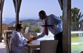 Hotel Carlo Magno Village (red) Forio di Ischia