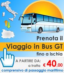 Prenota il viaggio in Bus per Ischia